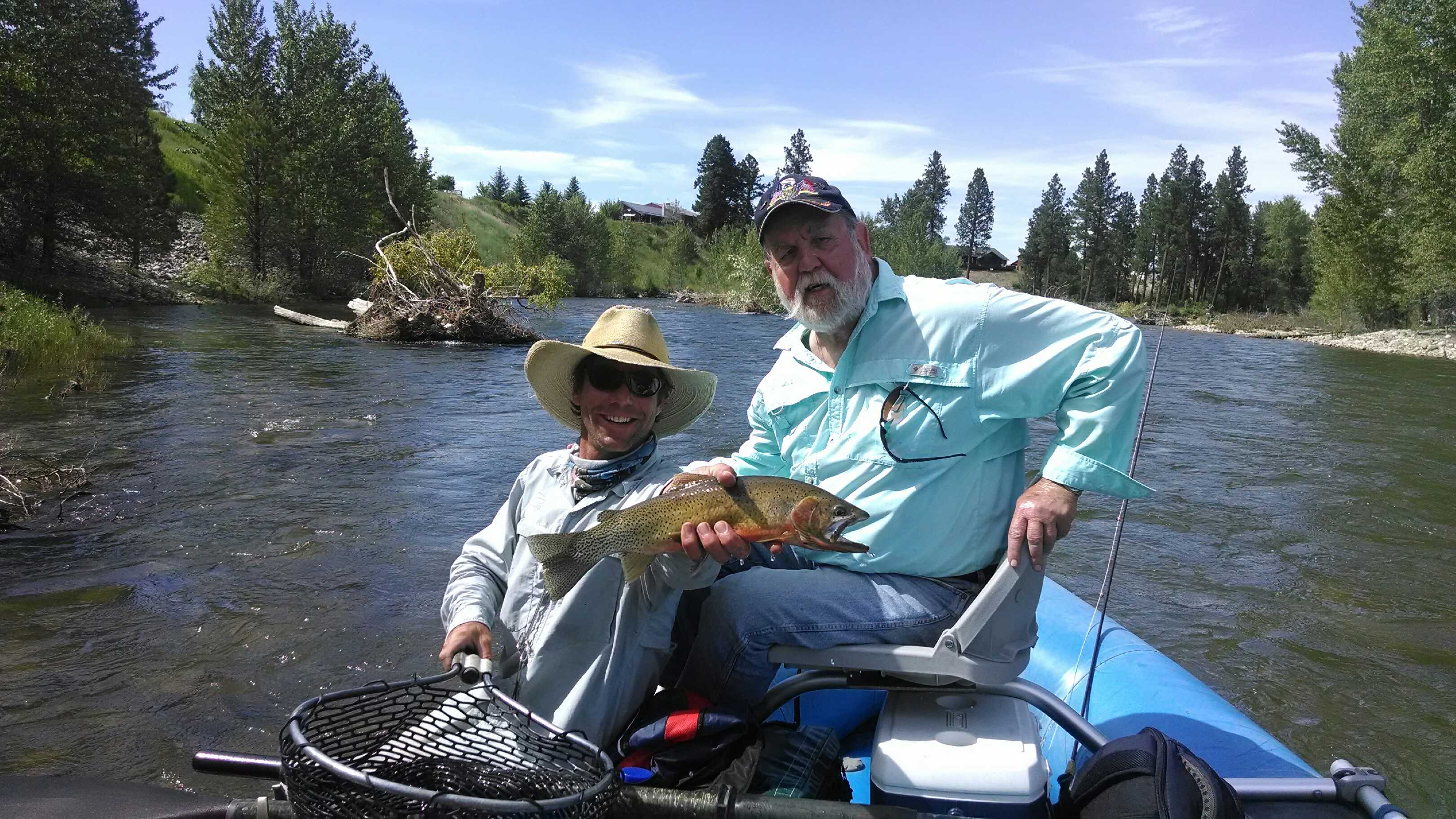 Montana bitterroot river fishing guides for Bitterroot river fishing report