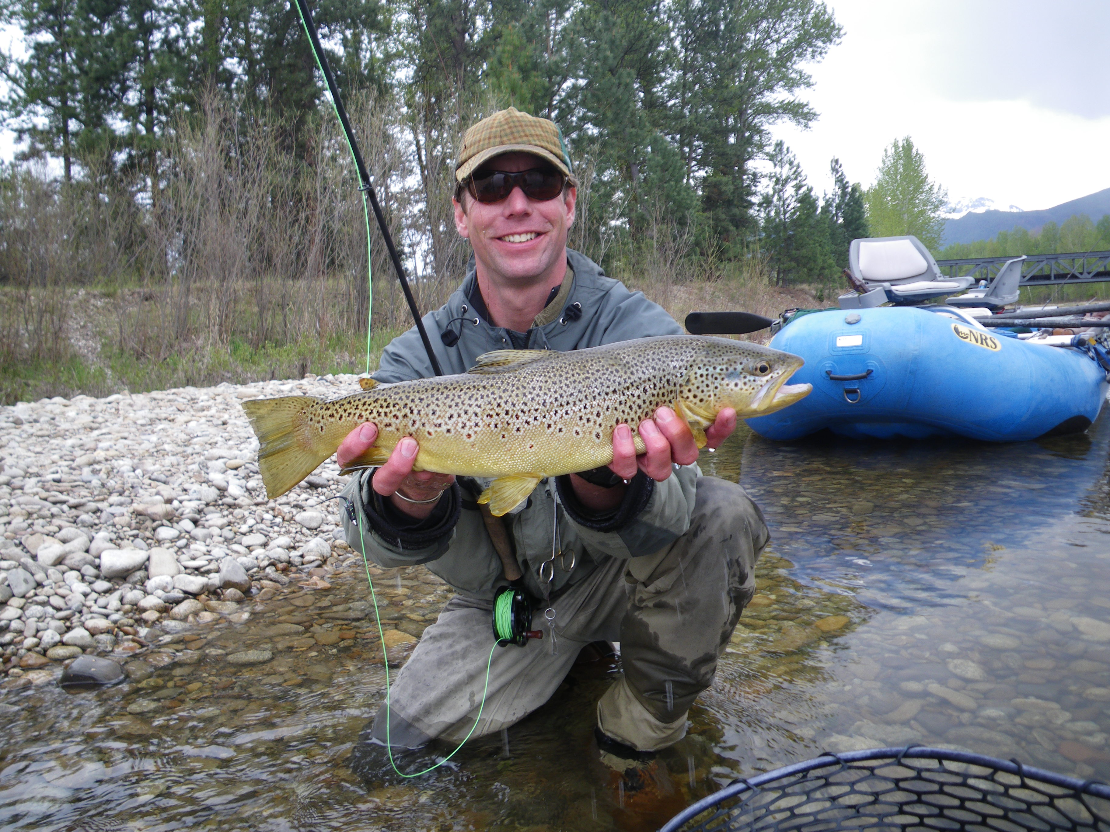 The outfitter bitterroot fishing report for Bitterroot river fishing report