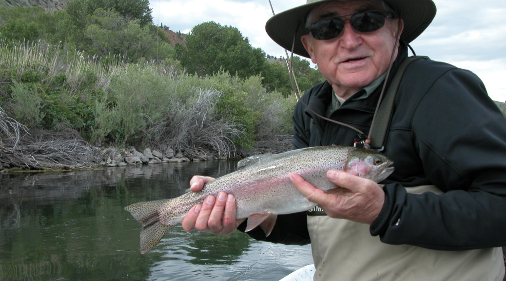 missouri river rainbow trout